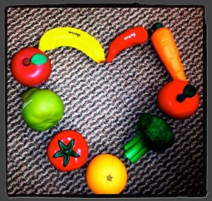 Eating fruits and veggies will strengthen your heart, body, and mind!